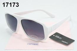 Wholesale Retro Square Clear Lens Glasses - High quality Luxury Brand Designer emporio Fashion Men Sunglasses Protection Outdoor Sport Vintage Women giorgio Sun glasses Retro Eyewear
