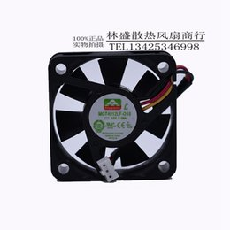 Wholesale 4cm Fan - Original MAGIC 12V 0.08A 4010 40*4-*10MM 3 line mute fan with 4CM