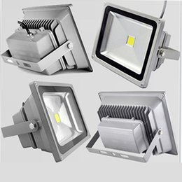 Discount led projection floodlights - 10pcs 30W LED flood light spot light projection lamp Advertisement Signs lamp Waterproof outdoor floodlight ac85-265v True white