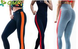 Толчок линии онлайн-Черная активная линия работает колготки серый эластичные сжатия спортивные йога леггинсы женские сексуальные Push Up фитнес тренажерный зал брюки сухой Fit