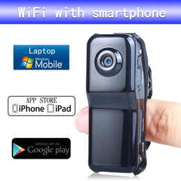 Wholesale Iphone Hidden Camera - Wireless Portable P2P IP Wifi Hidden Camera Video Camera Camcorder HD Cam data Recorder for Iphone Android Wifi Spy Camera PQ218