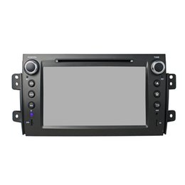 Wholesale Tv Sx4 - 2016 Hot sale 8inch Android 5.1 Car DVD player for Suzuki SX4 with GPS,Steering Wheel Control,Bluetooth, Radio