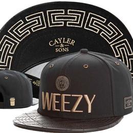 Wholesale Cayler Sons Weezy - CAYLER & SONS C&S Goldie Cap,Cayler and Sons C&S Goldie Weezy Hats,Best Quality Snapback Cap,Beanie,Strapback Cap Headwear Black