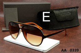 Wholesale Ford Brands - Top Quality New Fashion Tom 0339 Sunglasses Ford Man Woman Erika Eyewear Designer Brand Sun Glasses Matt Leopard Gradient Lenses Box Cases