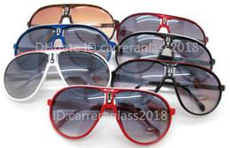 Wholesale Glasses Sun Retro Style - Fashion Men Women Retro Sunglasses Oval Designer Style Glasses Man Outdoor Sport Eyewear Unisex UV400 Luxury Brand Sun glasses with Box C-1