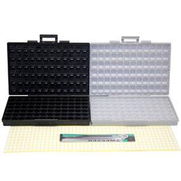 Canada Vente en gros- AideTek BOX-ALL boîtier SMD orgnizer BOX + ESD coffre-fort boîtier de diode IC UK supplier esd wholesale Offre