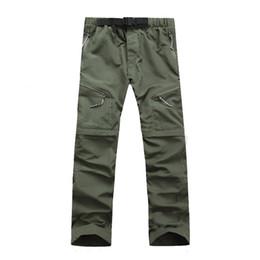 Wholesale Wholesale Pants For Men - Wholesale- NaranjaSabor 2017 Summer Men's Pants Men Trousers Quick Dry Spring Thin Sweatpants Waterproof Army Pants For Mens Brand Clothing