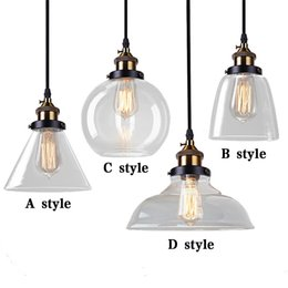 Wholesale Vintage Clear Glass Lamps - Retro Edison Vintage Wall Light Bedroom Industrial Wall E27 Edison bulb Wall Lamp for loft DIY rustic Bar Hotel Indoor Lighting