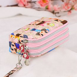 Wholesale Phone Case Wristlet - Wholesale- Coin Purse Clutch Wristlet Wallet Bag Phone Key Case Makeup Bag Women credit card holder