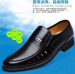 Wholesale Men Dress Black Shoes Wholesale - wholesale original genuine man leather shoes 100% real leather 2pcs lot