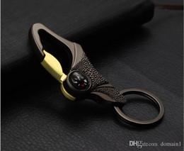 Kostenloser versand zink legierung männer taille schnalle schlüsselanhänger für männer hochwertigen kompass hängen auto keychain geschenk modeschmuck von Fabrikanten