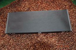 Wholesale Custom Electric Bass Guitars - hardcase for electric guitar or bass guitar Leather top wooden case rectangle black case custom shop logo can design