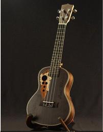 Wholesale Mini Acoustic - High Quality Acoustic Rosewood Ukulele wood binding Italy Aquila string 21 inch Soprano ukulele uke mini guitar guitarra