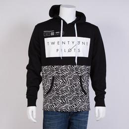 Argentina Moda Unisex Twenty One 21 Pilots Printed Pullover Hoodies Sudadera Hombres Deporte al aire libre Rocky Hoodie Jacket Más Tamaño Suministro