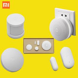 Vente en gros-100% d'origine Xiaomi Smart Home Kit, Porte façon intelligente Multifonction sans fil commutateur Capteur de corps humain Porte Capteur ? partir de fabricateur