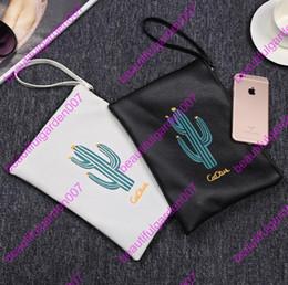 Wholesale Wholesale Mini Envelopes - Cactus Leather Hand Bag Shoulder Bag Printing Korean Female Women Bags Women PU Messenger Bags Top quality lady fashion mini bags