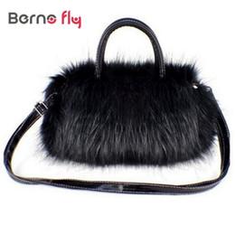 Wholesale Wholesale Luxury Faux Fur - Wholesale-2016 Luxury Women Handbag Faux Rabbit Fur Designer Female Small Messenger Bag for Women Bags Crossbody Shoulder Bags Bolsa