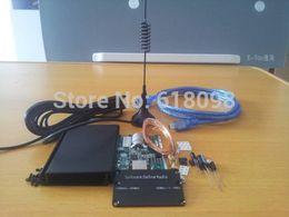 Wholesale Radio Receiver Kits - Wholesale-DIY KIT 100 KHZ to 1.7 GHz all band radio RTL - SDR receiver RTL2832 + R820T RTL-SDR
