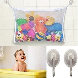 Wholesale Large Baby Tub - Baby Todder Bath Tub Toys Organizer - Large Storage Bag for Toys Even as a Shower Caddy + 2 Extra Strong Suction Cups! Mold Free Shipping
