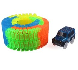 80pcs coches eléctricos de la pista luminosa que destellan las luces educativos Jeep modelo CRV Veichle juguetes para niños niños cumpleaños regalos de navidad desde fabricantes