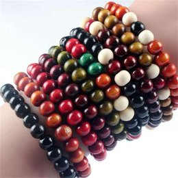 Wholesale Word Beads Wholesale - Beads annatto hand string words ebony lap Buddha beads bracelet Accessories wholesale street source of 8 mm