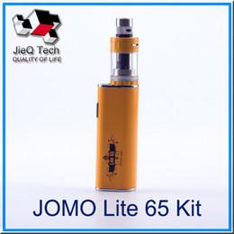 Wholesale Eletronic Cig - Eletronic Cigarette Authentic JOMO Lite 65 Starter Kit 3000mAh E Cig Kit Replacement Coil Resistance 0.2-3.0ohm VS Subox mini Starter Kit