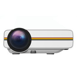 Wholesale Video Projects - Wholesale-YG300 Upgrade YG400 Mini Projector For Video Games TV Beamer Project Home Theatre Movie AC3 HDMI VGA AV SD USB YG-400 1080P