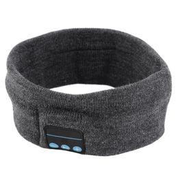 Wholesale Running Music Free - Bluetooth Sports Hats Wireless Headset Caps Stereo Music Headband Sweatband Call Handsfree for Men and Women Running Beach Yoga DHL