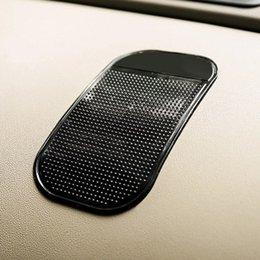 Wholesale Silica Gel Magic Anti Slip - Black Car Silicone anti-skid Pad Powerful Silica Gel Magic Sticky Pad Cellphone Anti Slip Non Slip Mat for Mobile Phone