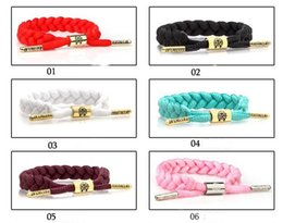 Wholesale Wholesale African Laces China - The little lion RastaClat star weave lace bracelets bracelets for men and women lovers bracelet