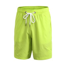 Wholesale Gasp Bodybuilding - Wholesale- Summer fitness loose casual fast dry men shorts 2017 Bodybuilding Fitness Gasp plus size workout breatheble Elastic Waist Shorts