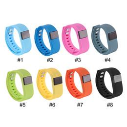 Bandas de reloj flex online-Pulseras de Fibit TW64 Pulsera inteligente Pulsera Rastreador de ejercicios Bluetooth 4.0 Fitbit Flex Watch para IOS Android