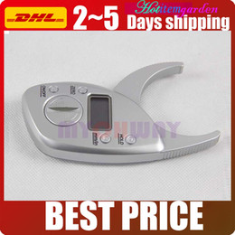 lift inches Coupons - Pro Thickness 50mm 2 inch Skin Fold Analyzer Special Digital LCD Body Fat Caliper Quick Measurement Body Fat