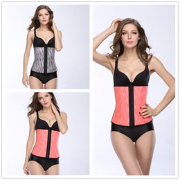 Wholesale Selling Waist Trainers - Hot Selling Waist Trainer Corset Fashion Woman Sexy Waist Cincher For sale Waist Training Steel Bone Body Shapers Wholesale