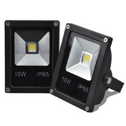 Wholesale Flood Homes - Wholesale-Outdoor LED Flood Light 10W 20W 30W 50W AC110-220V Waterproof IP65 Wall Lamps RGB Spotlight For Garden Path Landscape Home Light