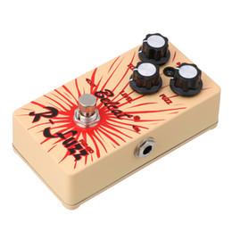 Effet pédale pour basse en Ligne-Belcat FUZ-510 Pédale d'effet niveau Fuzz Tone Guitar Bass (Ture Bypass)