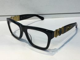 Wholesale Square Eyeglass Fashion Frames - Luxury Glasses Prescription Eyewear 426 Eyeglasses Vintage Frame Men Brand Designer Eyeglasses With Original Case Retro Design Gold Plated