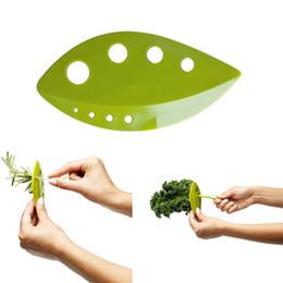 Chou frisé, bette à carde, Collard Greens Herb Stripper Looseleaf Romarin Thym Feuilles mobiles Herb Dénudeur Cuisine Gadgets Outils de légumes ? partir de fabricateur