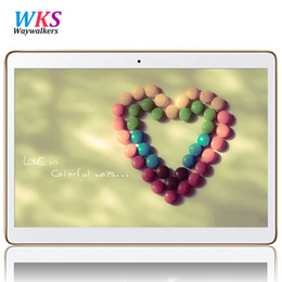 Wholesale Kids Tablet Computers - Wholesale- waywalkers 10.1 inch 4G LTE Tablet PC 10.1 Octa Core Android 5.1 4GB RAM 64GB ROM 1280x800 call phone tablet computer gift kid