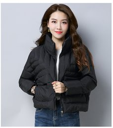 Wholesale Cheap Real Coats - Brand Women Jacket France Brand Winter Coat Female Clothes Real Thick Coat Cotton Collar Hood Cheap Down Jacket