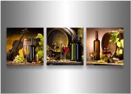 abstrakte sonnenaufgang gemälde Rabatt 3 Stück Wand Kunst Modern Abstrakt Große billige Herbst Ahorn Blätter Holz Ölgemälde auf Leinwand Dekoration gerahmt