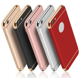Wholesale Hot Design Iphone Case - Phone Case Luxury 3in1 Design Matte Frosted Hybrid Slim ShockProof Back Cover for iphone7 7plus 6s samsung galaxy s8 plus New Hot