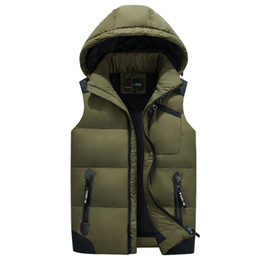 Wholesale Light Winter Coats For Women - New Fashion Brand Down Jacket Vest for Women and Men Winter Down Vest Waistcoat Female Male Light Warm Outerwear Coat