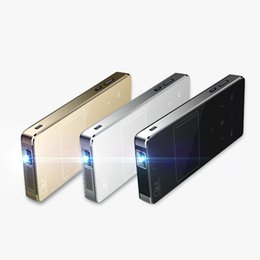 Wholesale Tv Inch China - Wholesale-4000 lumens dlp pocket Projector 4k smartphone projector full hd 3D 150 inches TV android projector wifi best cheap in china