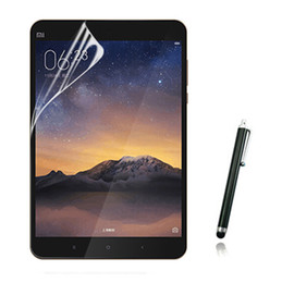 Wholesale Cloth Stylus - Wholesale- 1x film +1x cloth +1x Stylus , Anti-Glare Matted Screen Protector Matte Protective Films For Xiaomi Mipad 2 Mi Pad 2Gen Tablet