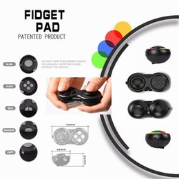 Wholesale Square Games - New style Intelligence Toys Fidget Pad Decompression Handle Resistance To Anxiety Game Decompression Magic Square