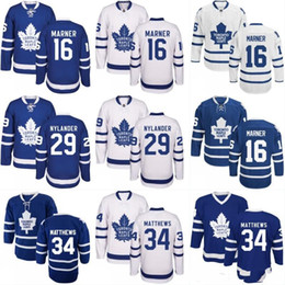 Wholesale Winter Season Boy - Youth Hockey Jerseys Cheap New Season Toronto Maple Leafs #34 Auston Matthews Jersey Winter Classic Alternate All Stitched Hockey Jerseys