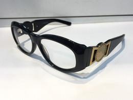 Wholesale Rimless Prescription Glasses - MOD424 Vintage Eyeglass Medusa Designer Glasses Prescription Steampunk Style Men Brand Semi-rimless Frame Big Face Stand Out Design
