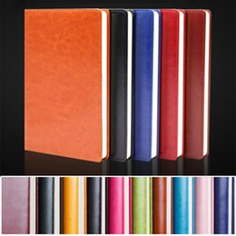 Wholesale Business Sheets - Assorted Classic Hardcover Business Planner Notebooks Leather Shell 100 Sheets Notebooks Journals Notebook for Office Meeting Training