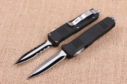 Wholesale Titanium Knife Blades - Special offer Butterfly C07 AUTO Tactical Knife 440C 58HRC Titanium Blade EDC Pocket Knife Xmas Gift